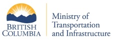 BC Ministry of Transportation & Infrastructure logo